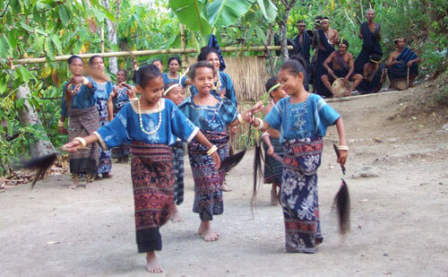 Watublapi Traditional Village - Flores, Indonesië