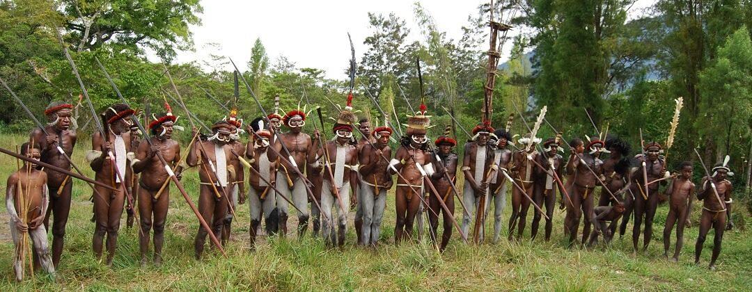 Cultureel festival in de Baliemvallei – Papoea