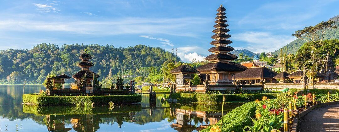Pura Ulun Danu Bratan, een hindoeïstische tempel – Bali