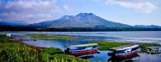 Mount & Lake Batur - Kintamani, Bali, Indonesië